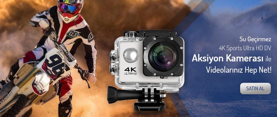 4K Wifi Aksiyon Kamerası