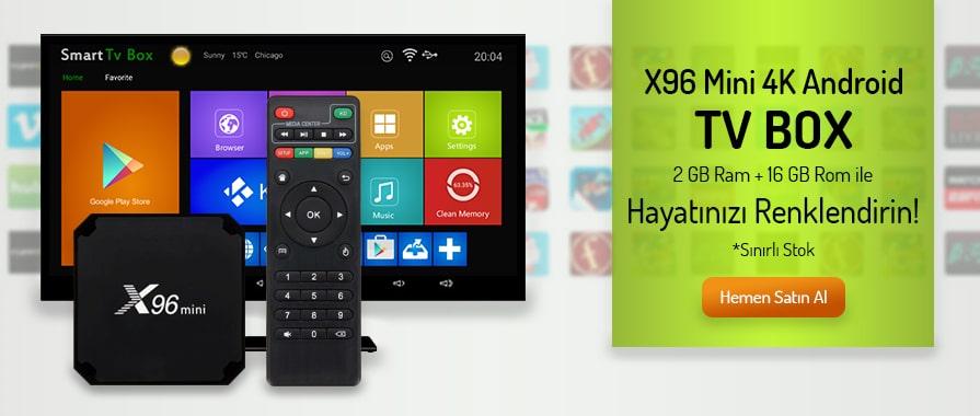 X96 Mini 4K Android Tv Box