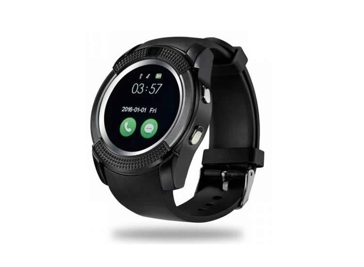 V8 Smart Watch Akıllı Saat Siyah