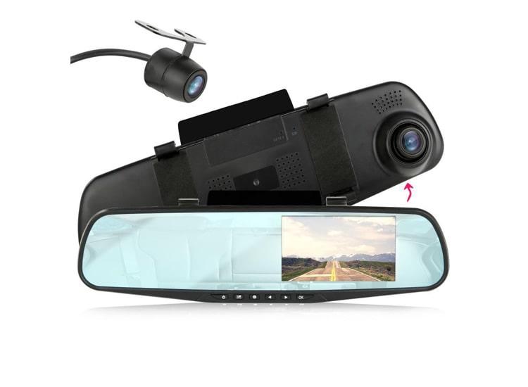 Geri Görüşlü Kameralı Park Sensörü-Dikiz Ayna