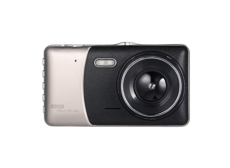 Gece Görüşlü Full HD Araç İçi Kamera Park Sensörü 4 İnç 1080P