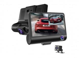Üçlü Araç İçi Geri Görüşlü Kamera Kayıt Sistemi