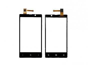 Nokia Lumia 820 Dokunmatik Ön Cam Siyah