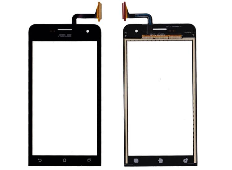 Asus Zenfone 5 A500CG A500KL A501CG Dokunmatik Ön Cam Siyah