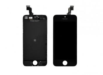 iPhone 5C LCD Ekran - Dokunmatik (Siyah)