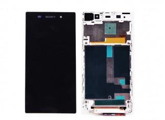 Sony Xperia Z1 L39H LCD Ekran ve Dokunmatik Beyaz