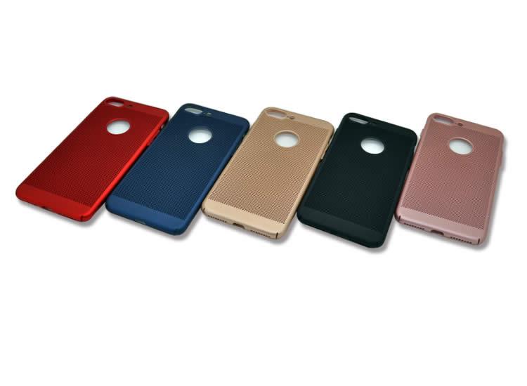 İphone 7 Delikli Rubber Arka Kapak-Kılıf