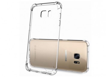 Samsung S8 Plus Hibrid Şeffaf Arka Kapak-Kılıf