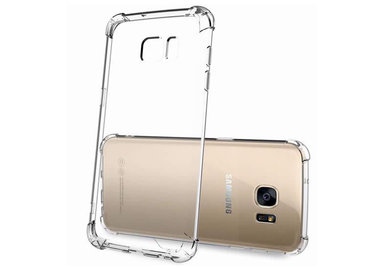 Samsung S8 Hibrid Şeffaf Arka Kapak-Kılıf