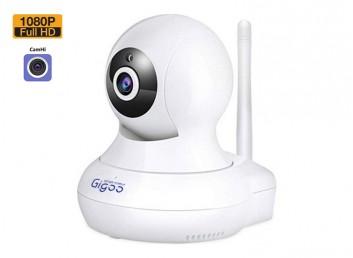 Gigoo Full HD 1080P Hareket ve Nesne Takip Sensörlü IP Bebek ve Güvenlik Kamerası