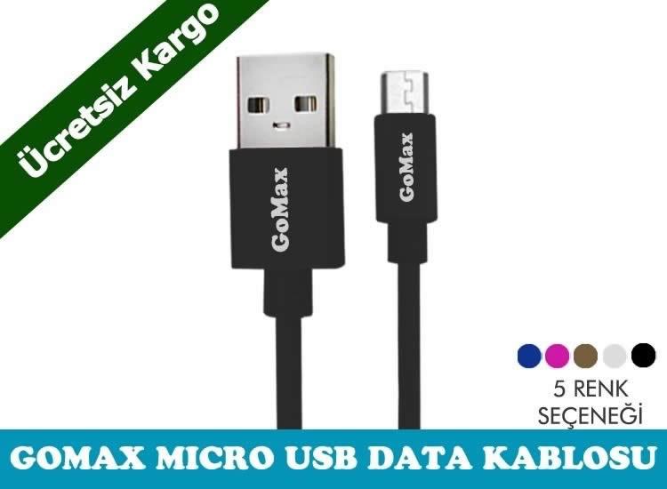 Gomax Micro Usb Data Kablosu-Ucretsiz Kargo