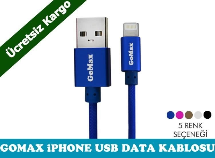 Gomax iPhone Usb Data Kablosu-Ücretsiz Kargo