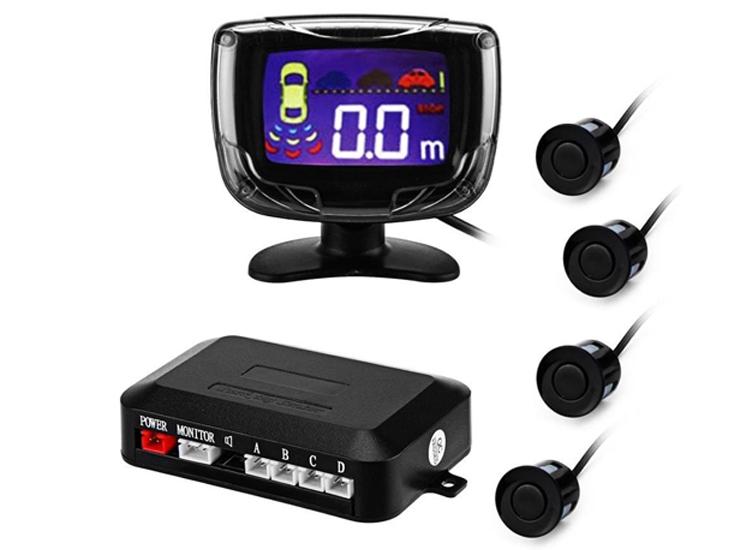 4 Sensörlü LCD Ekranlı Park Sensörü
