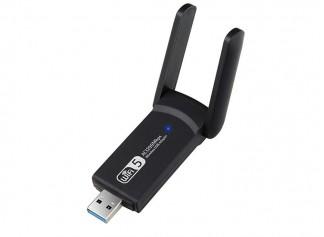 Gomax Dual Band Usb 3.0 Adaptör Kablosuz Wifi Alıcı Ac1200 Mbps