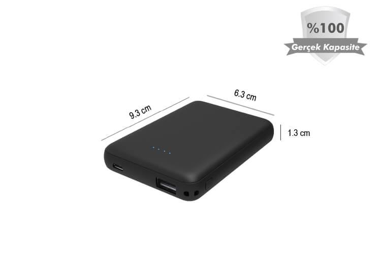 GoMax PowerBank 4000 mAh Harici Batarya