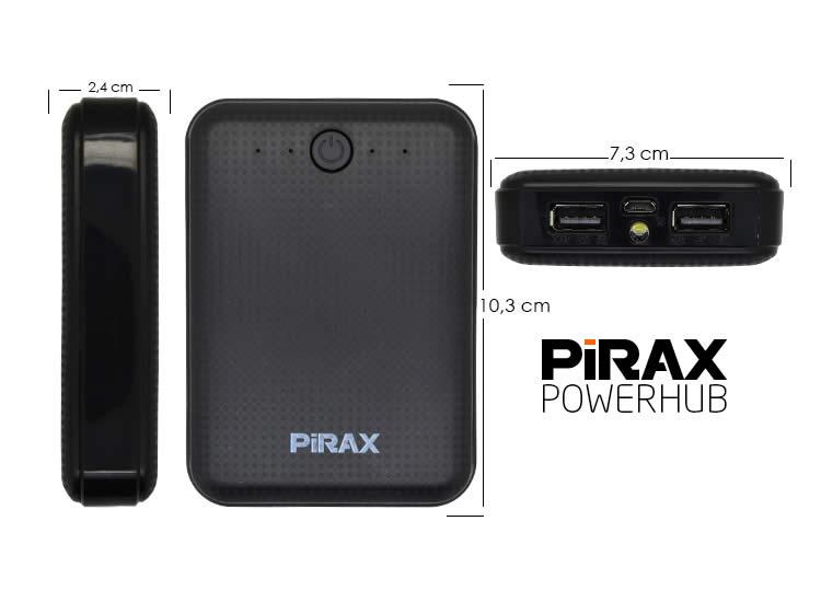 Pirax PowerBank 10800mAh Harici Batarya