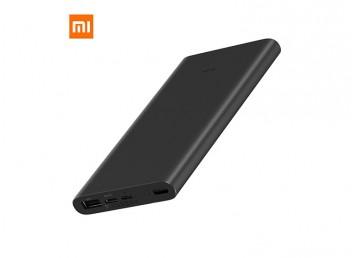 Xiaomi Mi 10000 mAh Type-C ve Micro USB  QC3.0 Hızlı Şarj Destekli 3.Nesil Powerbank - Siyah