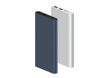Xiaomi Mi 10000 mAh PLM13ZM Type-C ve Micro USB  QC3.0 Hızlı Şarj Destekli 3.Nesil Powerbank - Siyah