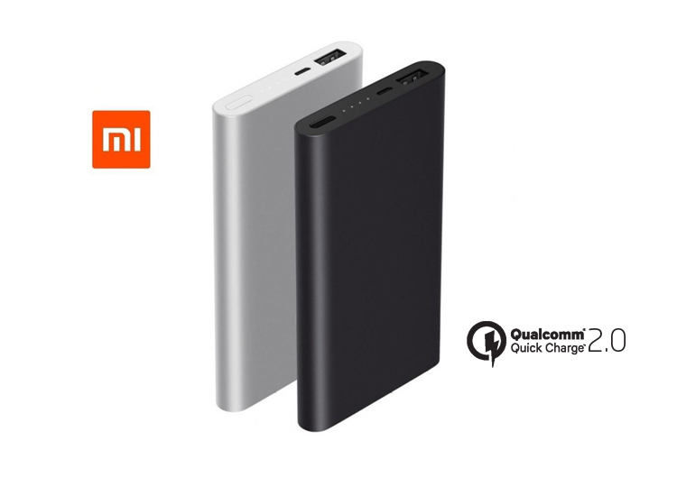 Xiaomi Mi 2 10000 mAh Slim Powerbank (QC 2.0)