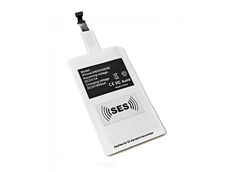 iPhone iOs Lightning Qi Kablosuz Şarj Alıcı