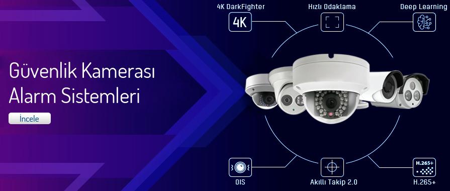 Güvenlik Kamerası ve Alarm Sistemleri