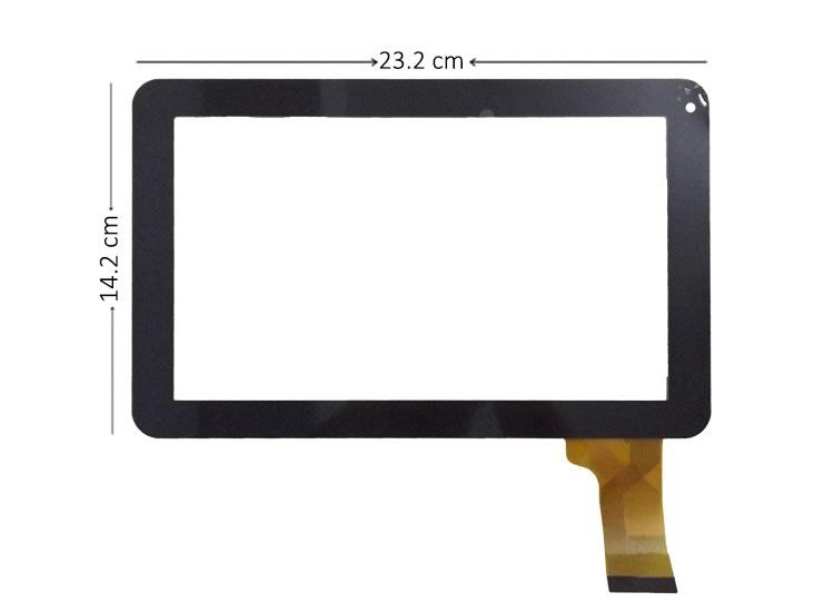 Allwinner A13 9 İnç Siyah Dokunmatik Ekran