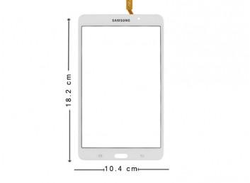 Samsung Tab 4 SM-T230 Dokunmatik Ekran - Beyaz