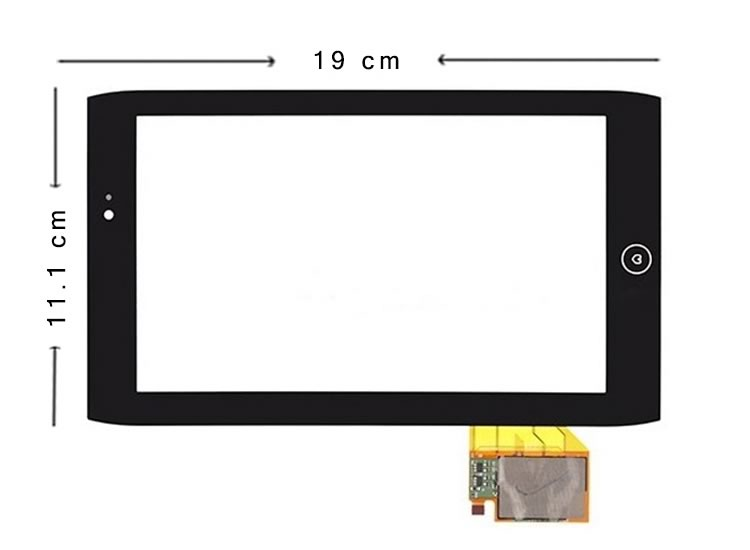Acer Iconia Tab A101 Dokunmatik Ekran
