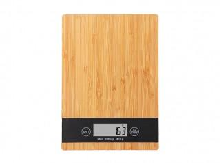 Bambu Dikdörtgen Mutfak Terazisi 5Kg/1Gr