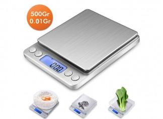 Dijital Hassas Tartı-Mutfak Terazisi 500Gr/0.01Gr