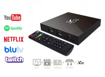 X96 Plus 4K TV Box 2GB Ram 16GB Rom