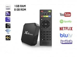 X96 Mini 4K Android TV Box 1GB Ram 8GB Rom