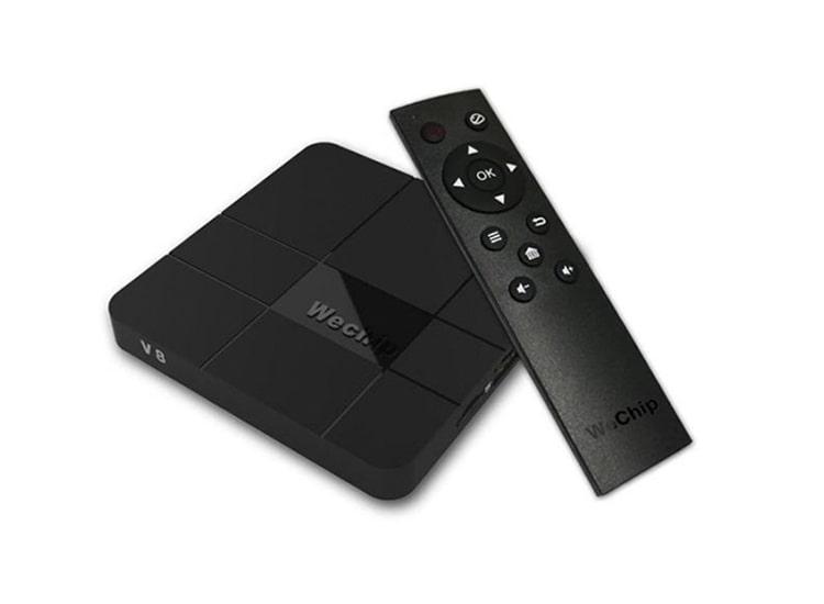 WeChip V8 4K Android Tv Box 2GB RAM 16GB ROM