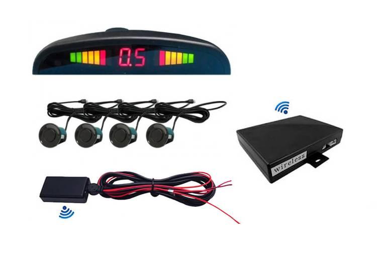 Kablosuz Led Ekranlı Ses ikazlı Park Sensörü