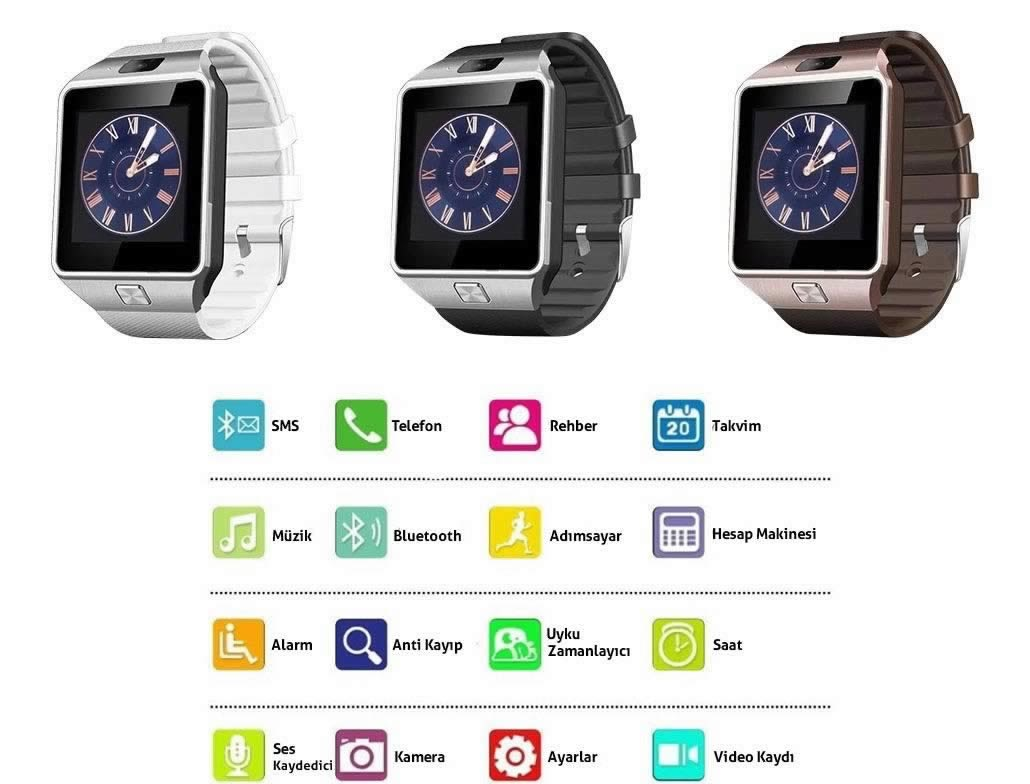 DZ09 Smart Watch Akilli Saat